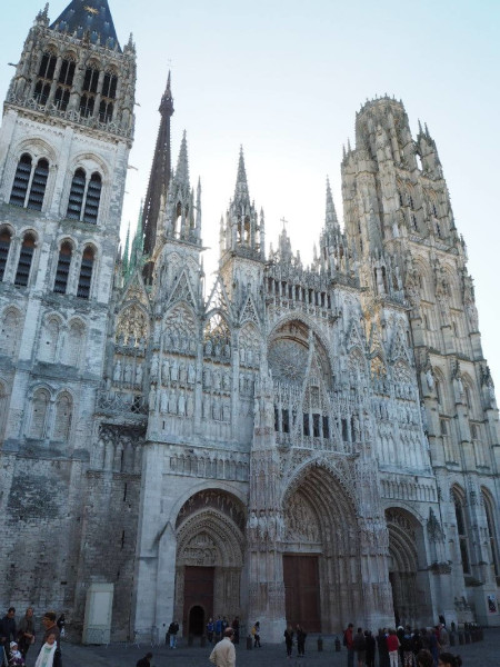 Die Kathedrale in Rouen.
