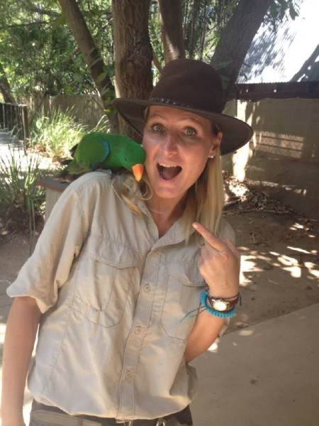 Work and Travel Australien Wildlife Ranger Papagei
