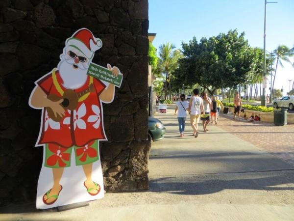Weihnachten auf Hawaii