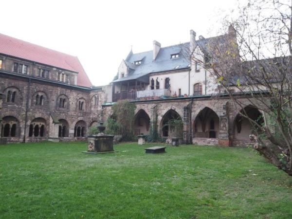 Innenhof Kreuzgang Magdeburg