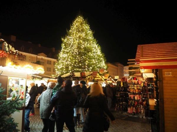 Magdeburger Weihnachtsmarkt Weihnachtsbaum