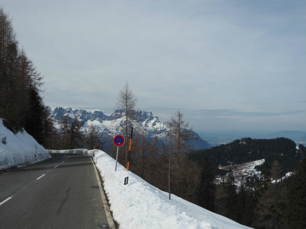 Rossfeld Panoramastraße im Berchtesgadener Land