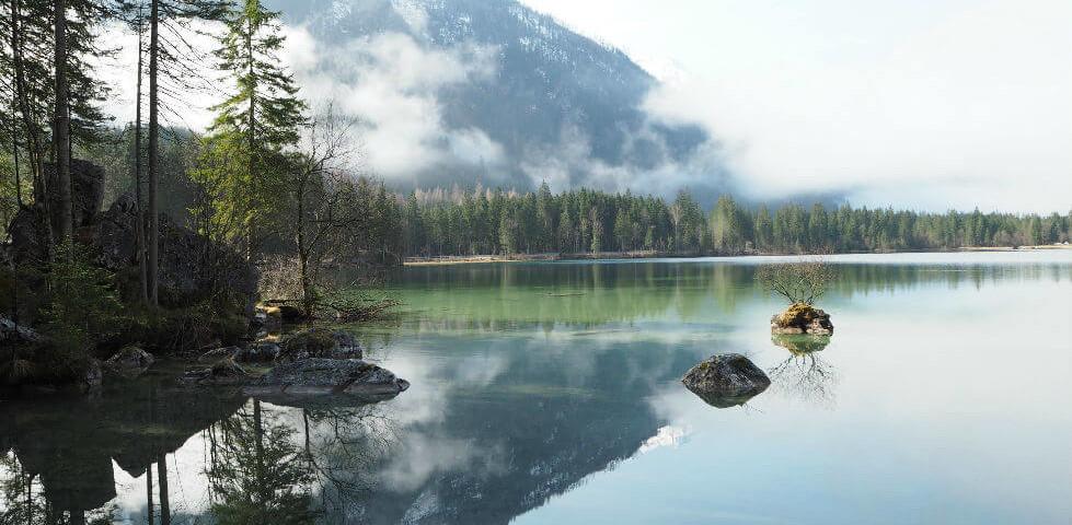 Hintersee im Berchtesgadener Land