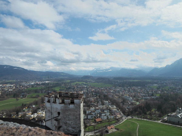 Sehenswürdigkeiten in Salzburg_Ausblick von der Festung Hohensalzburg 2