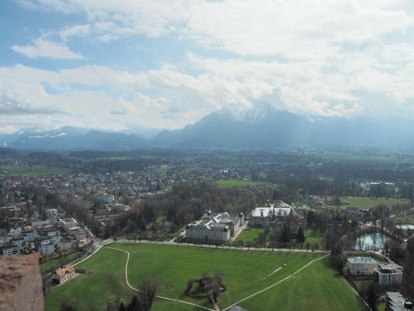 Sehenswürdigkeiten in Salzburg_Ausblick von der Festung Hohensalzburg