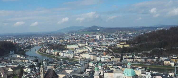 Sehenswürdigkeiten in Salzburg_Blick auf Salzburg