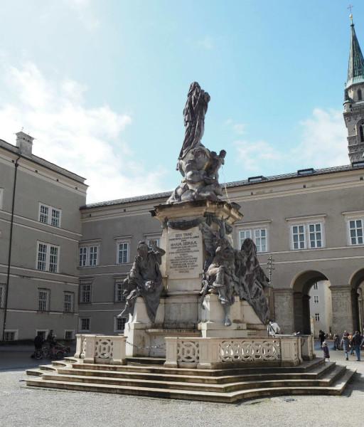 Sehenswürdigkeiten in Salzburg_Domplatz