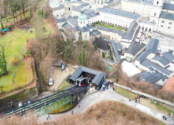 Sehenswürdigkeiten in Salzburg_Festungsbahn