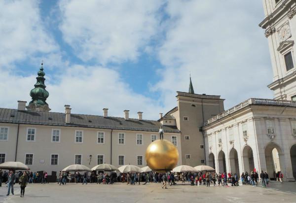 Sehenswürdigkeiten in Salzburg_Goldene Kugel