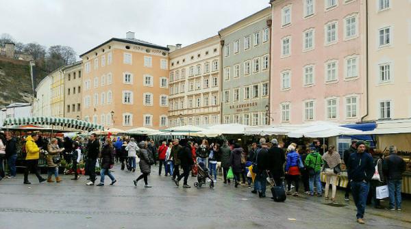 Sehenswürdigkeiten in Salzburg_Grünmarkt