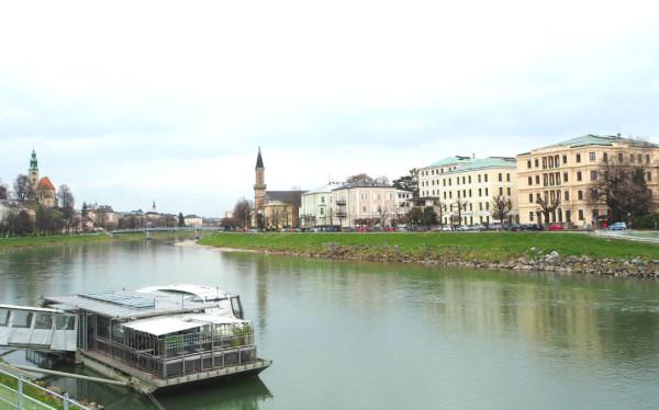 Sehenswürdigkeiten in Salzburg_Salzach