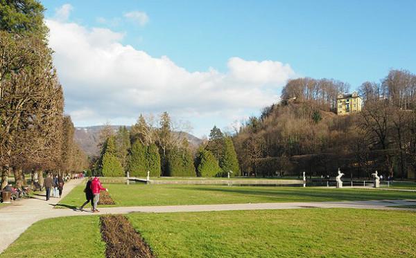 Sehenswürdigkeiten in Salzburg_Schloss Hellbrunn Schlosspark