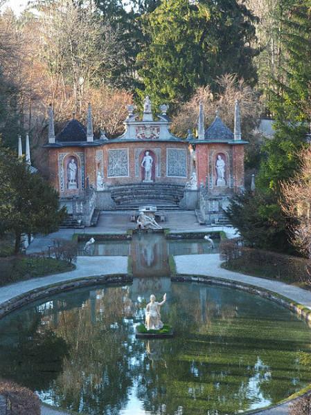Sehenswürdigkeiten in Salzburg_Schloss Hellbrunn_Wasserspiele
