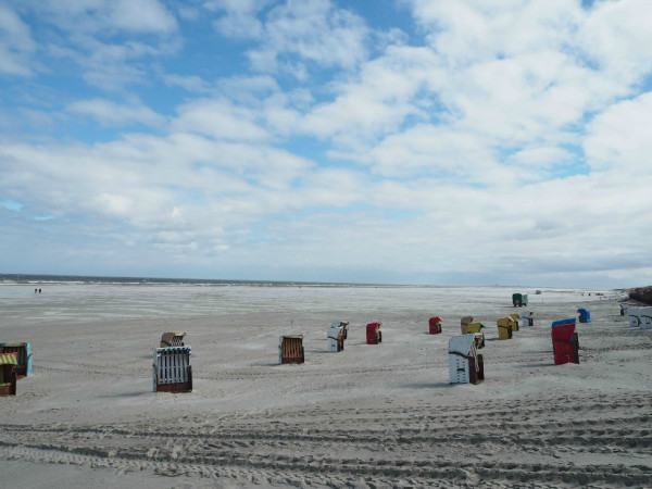 Strandkörbe Juist