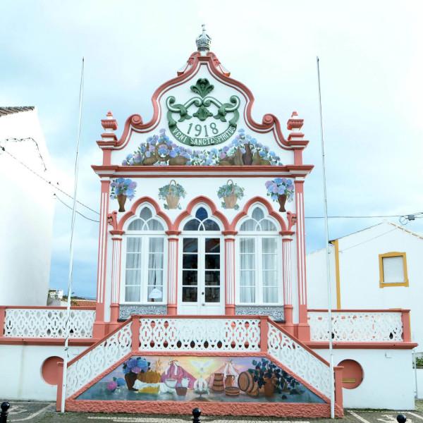 Terceira Azoren Heilig-Geist-Kappelle
