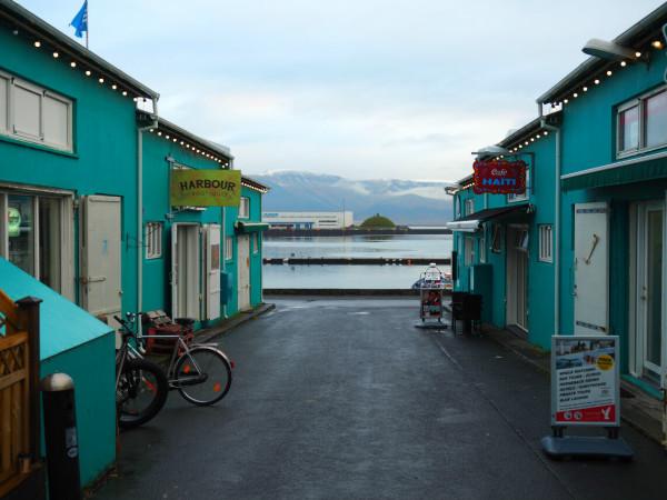 Island Reykjavik Alter Hafen