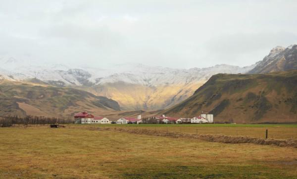 Island Eyjafjallajökul
