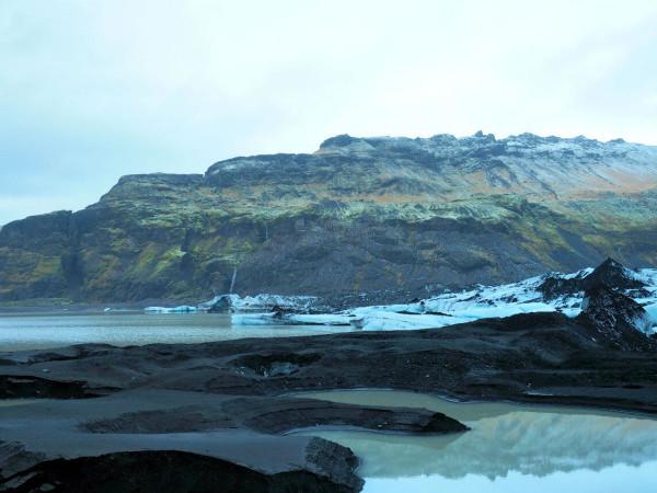 Island Gletscher Solheimjokull