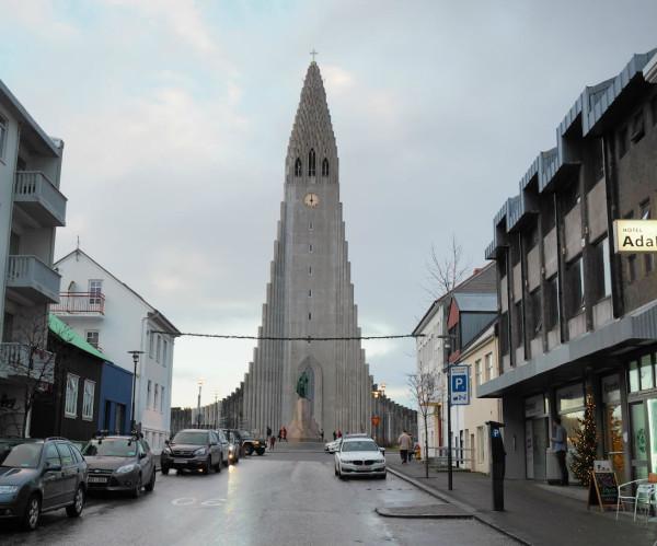Island Reykjavik Hallgrímskirkja