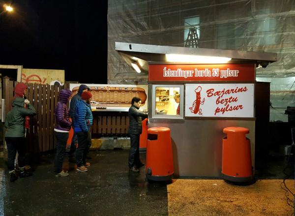 Island Reykjavik Hot Dog Bæjarins Beztu Pylsur