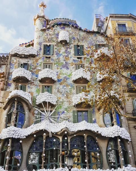 Barcelona Gaudi Casa Batlló
