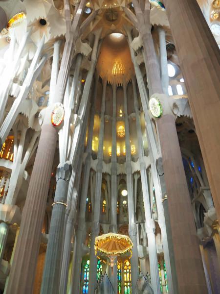 Barcelona Sagrada Familia Bäume