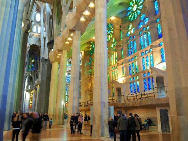 Barcelona Sagrada Familia Fenster