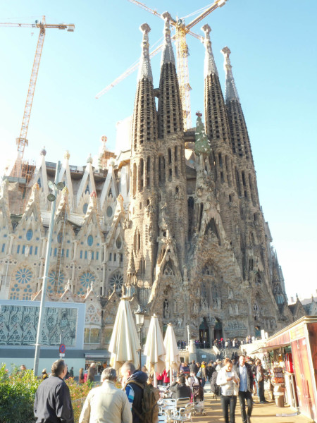 Barcelona Sagrada Familia außen