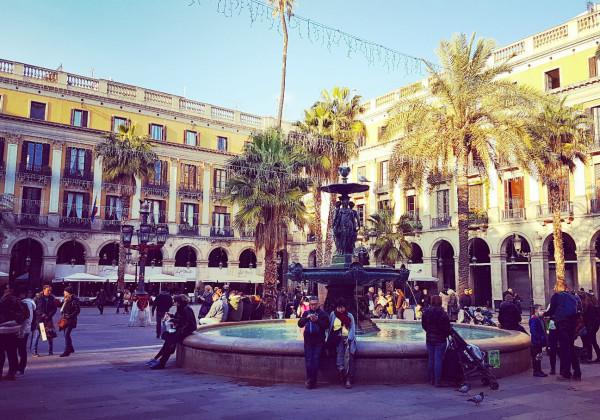 Königlicher Platz Barcelona
