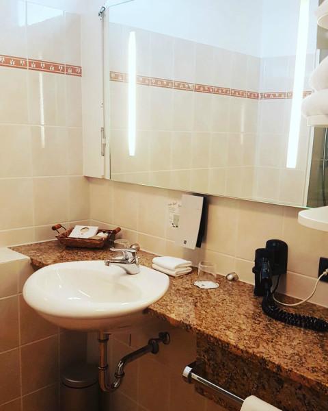 Hotel Si Suites Badezimmer