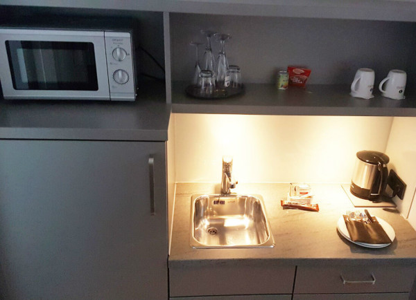 Hotel Si Suites Küche