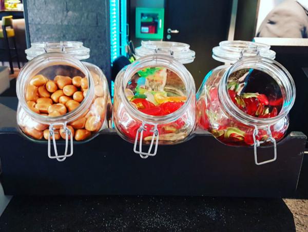 Hotel Si Suites Süßigkeitenbar