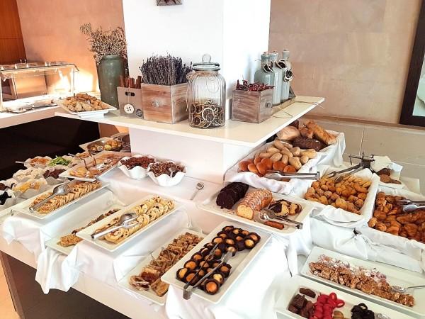 Grecian Park Hotel Frühstücksbuffet zypriotisch