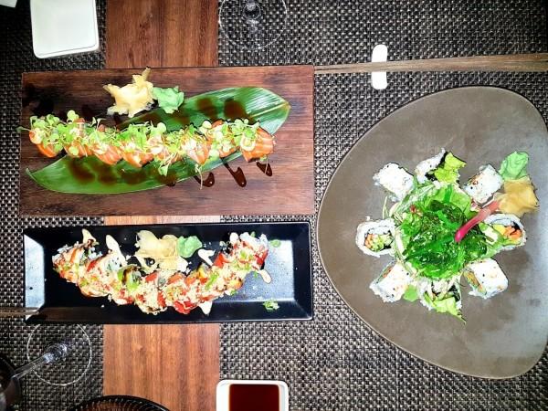 Grecian Park Hotel UMI Restaurant Sushi Vorspeisen