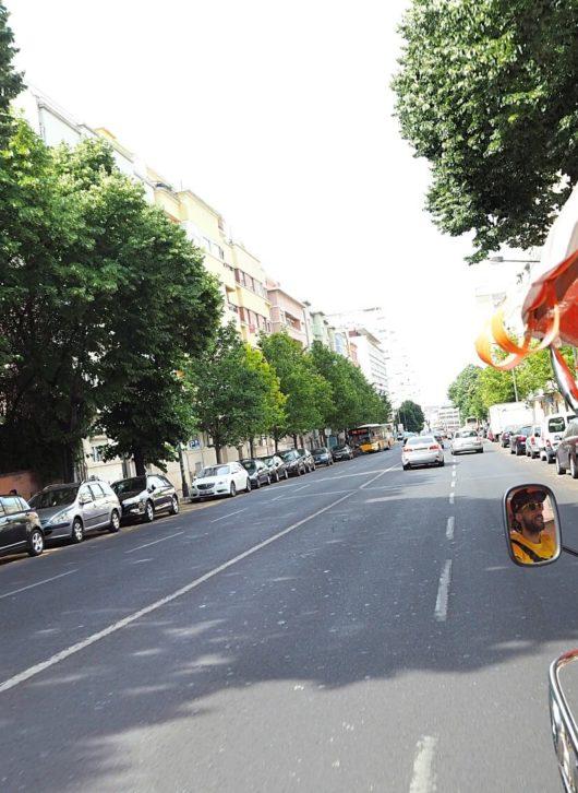 Tuk Tuk fahren in Lissabon