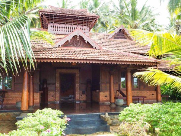 Keralahaus Somatheeram Ayurvedic Health Resort Kerala Indien