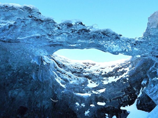 Ice Explorers Eishöhle Island Gletscherbogen
