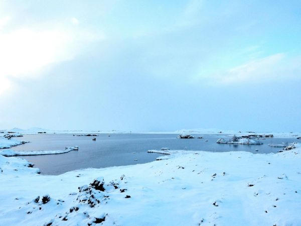 Island Roadtrip im Winter Nordosten Mvatn Nationalpark