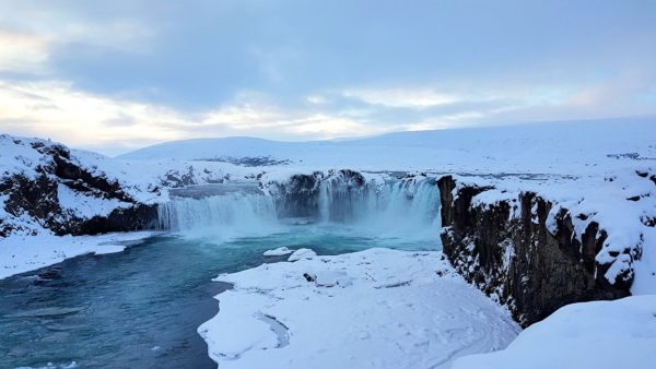 Island Roadtrip im Winter Godafoss