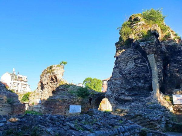Römische Thermen von Varna in Bulgarien