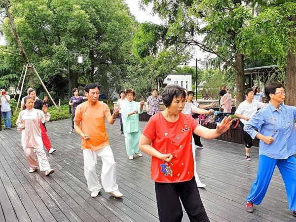 China-Suzhou-Tai-Chi