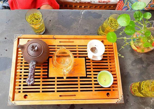China-Shanghai-Wasserdorf-Zhujiajiao-Teestube