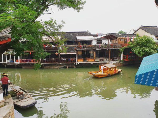 China-Shanghai-Wasserdorf-Zhujiajiao