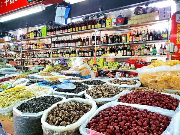 China-Suzhou-Markt-Shantang-Jie-Strasse