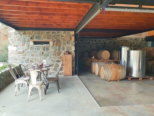 Zypern Nikosia Troodos-Gebirge Anama Concept Wein