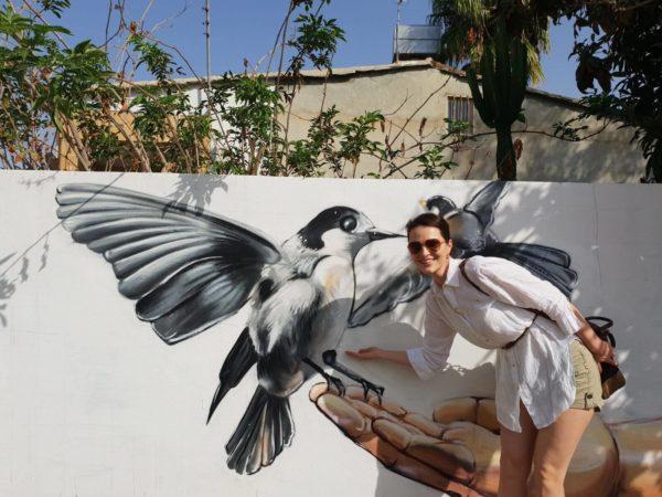 Zypern Nikosia Kaimakli Streetart