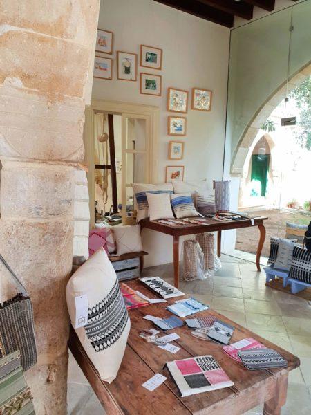 Zypern Nikosia Kaimakli Textil-Workshop von Julia Astreou-Christoforou