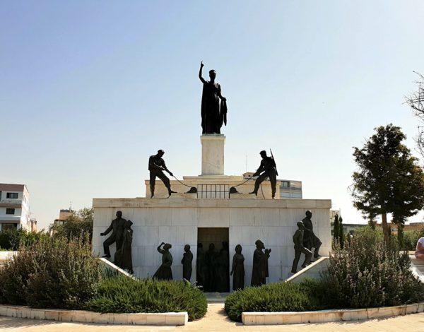 Zypern Nikosia Freiheitsdenkmal