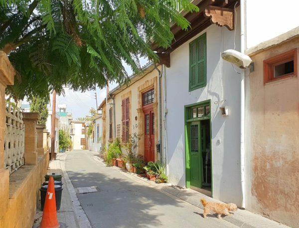 Zypern Nikosia Altstadt Gassen