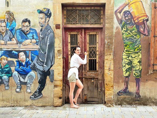Zypern Nikosia Streetart Die Menschen Zyperns - Paparazzi